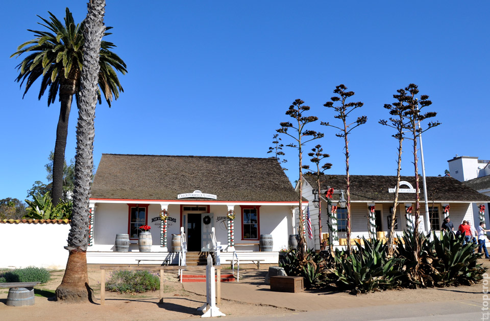 Дом-музей в Сан-Диего