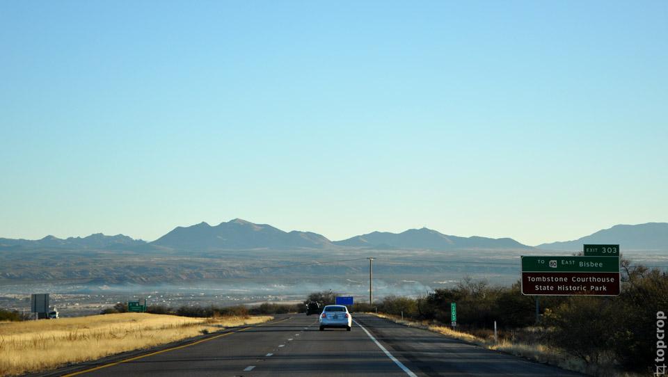 Дорога от Сан-Диего в сторону Далласа