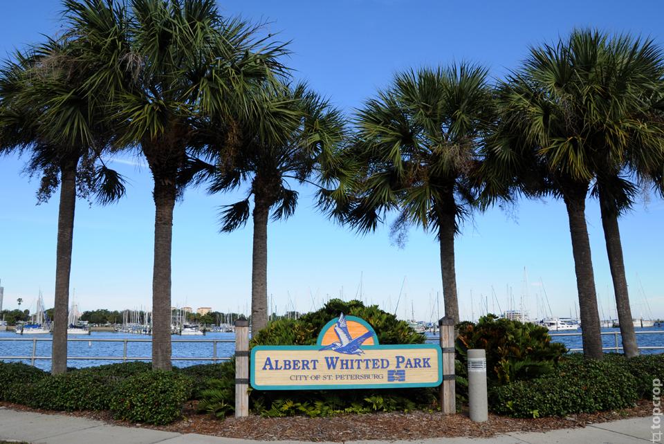 Albert Whitted Park в Сент-Петерсбурге, Флорида