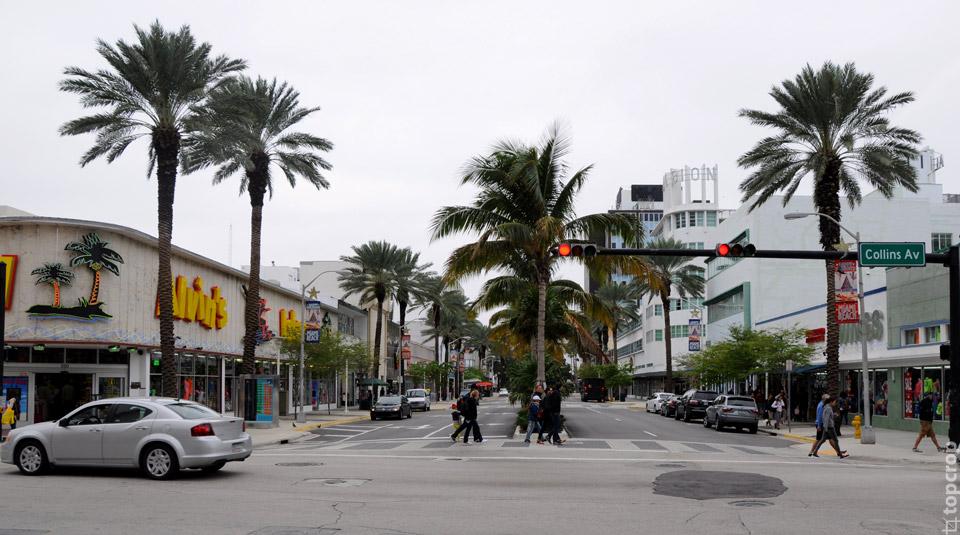 Collins Av., Miami, Florida