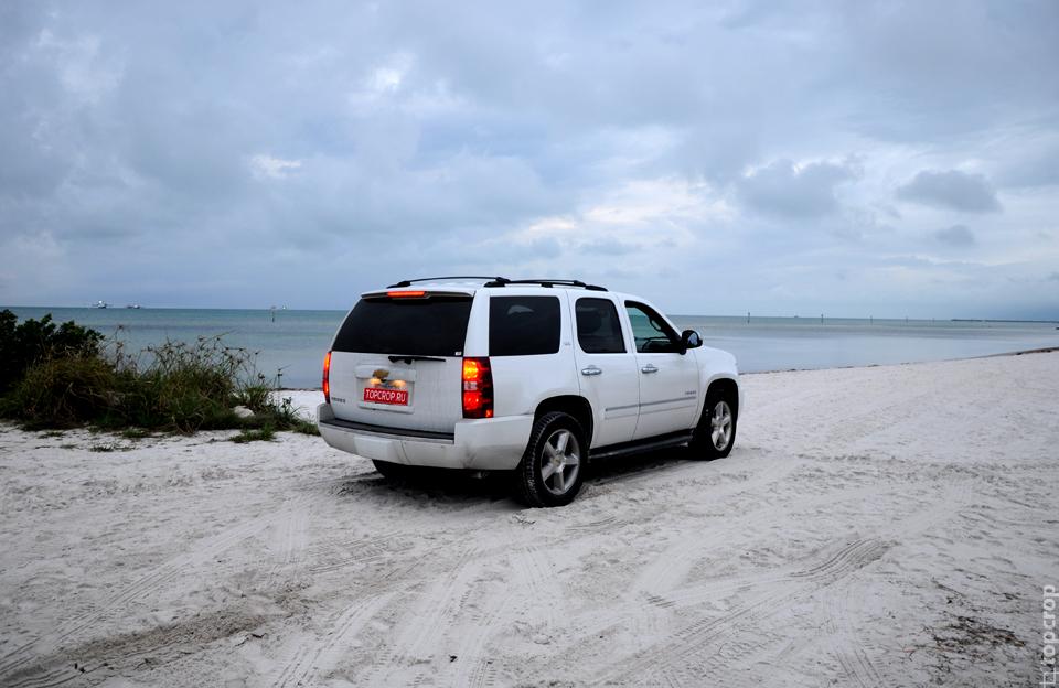 Восточный пляж на острове Key West