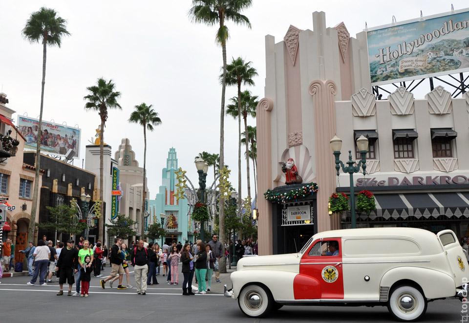 Улица в парке Hollywood Studios
