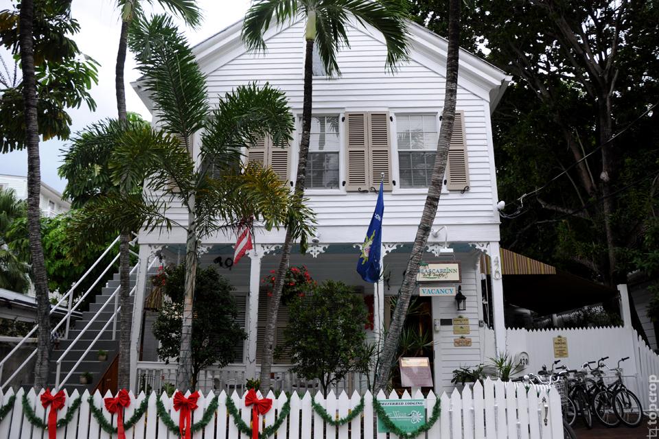 Типичная вилла на острове Ки-Уэст