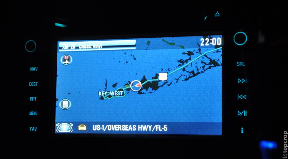 Путь по трассе U.S.1 до Key West