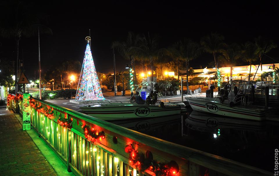 Новогодняя ель на Key West
