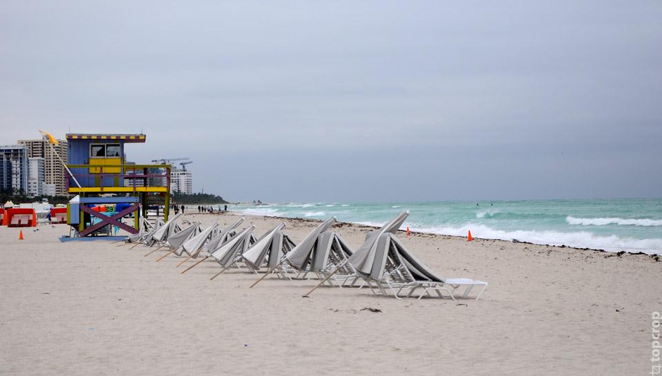Пляж Майами-Бич