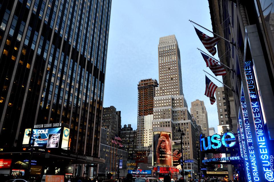 Улица Нью-Йорка