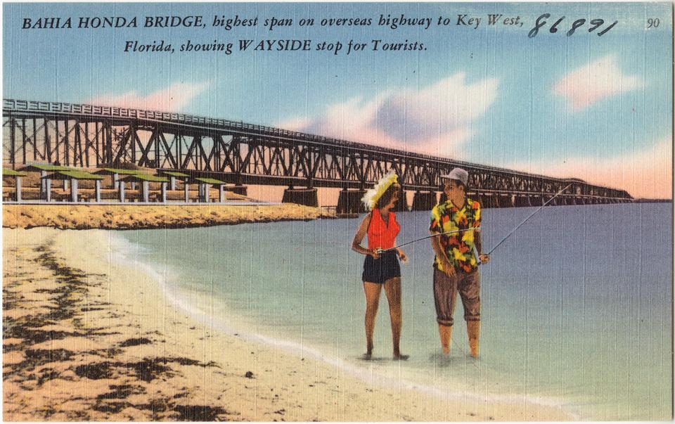 Мост Bahia Honda на трассе до Ки-Веста