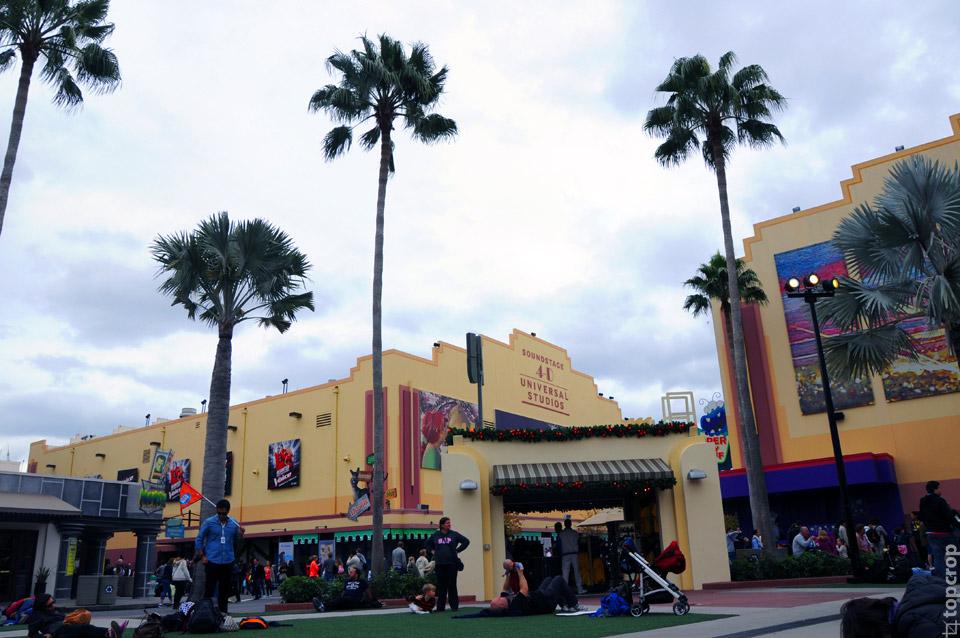 В парке Universal Studios Florida