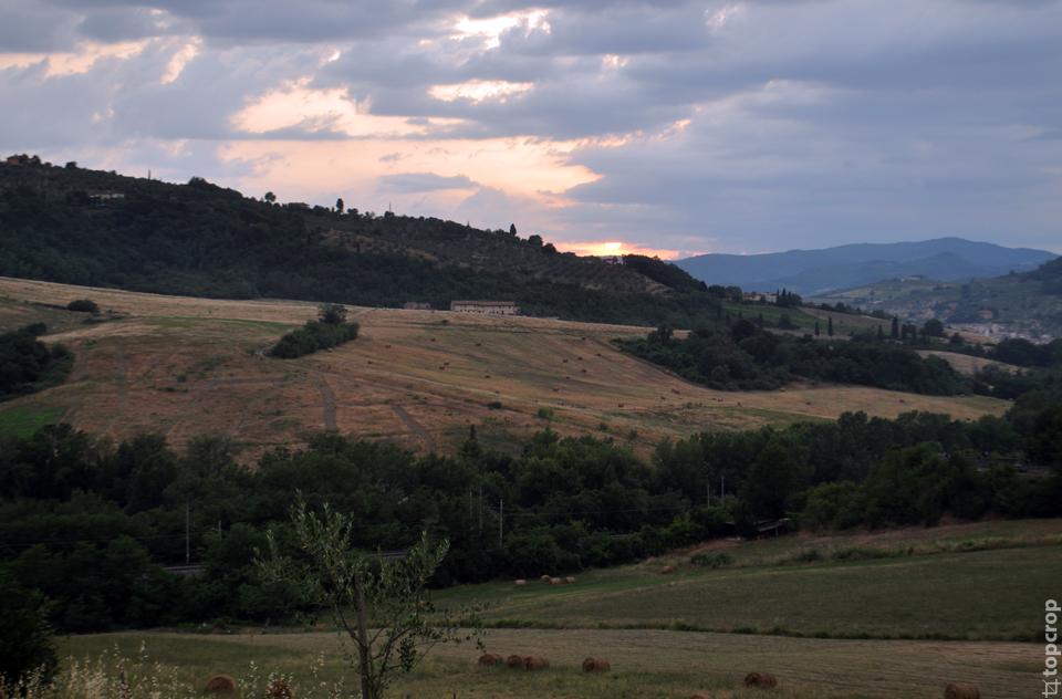 Тосканский закат