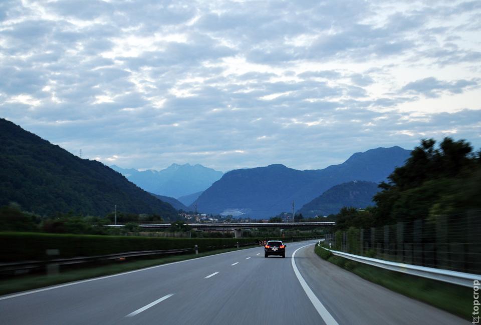 Швейцарская дорога