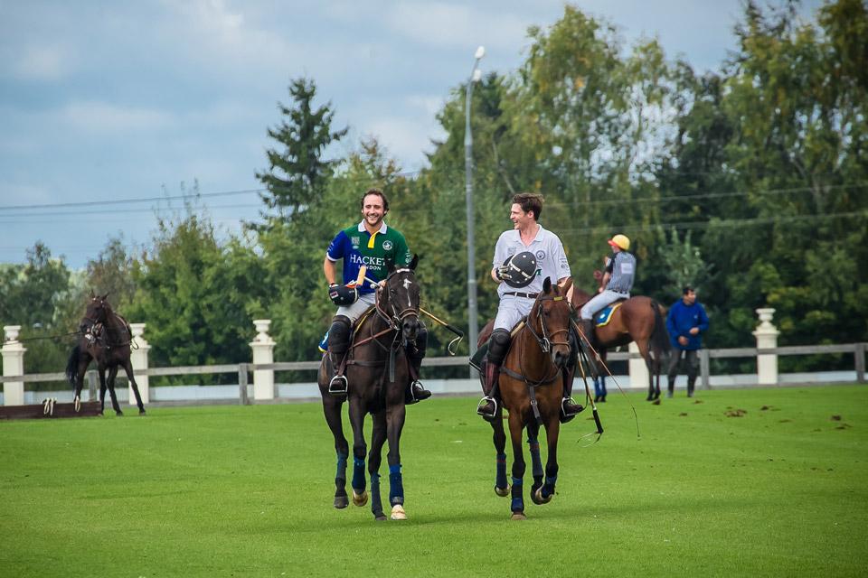 Михаил Родзянко на лошади