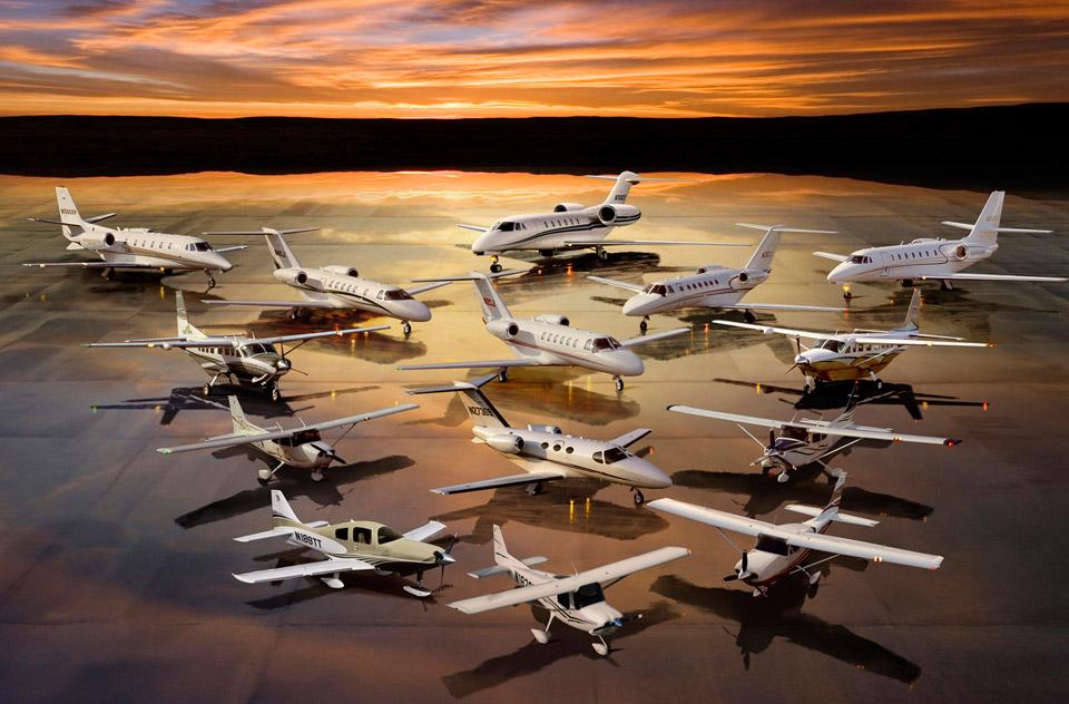 все модели Cessna