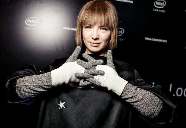 Vika Gazinskaya for Intel