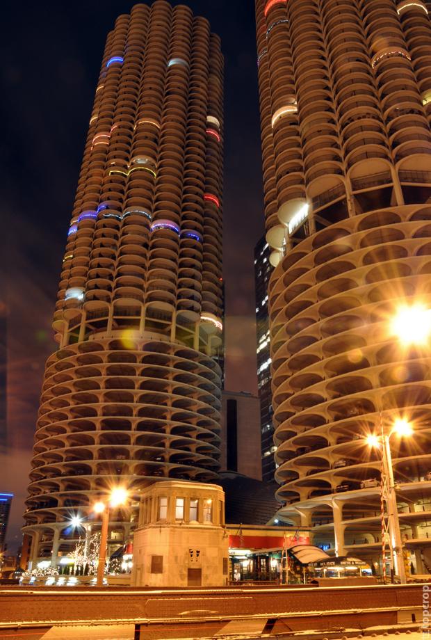 Многоуровневые парковки в Чикаго