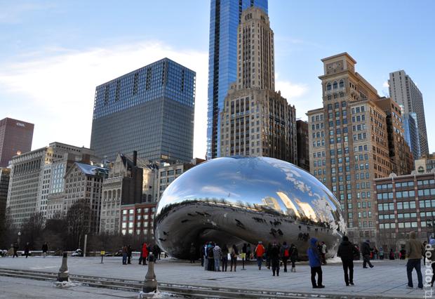 Клауд гейт в Чикаго