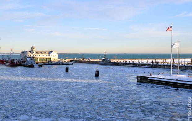 Озеро Мичиган. Чикаго. Зима 2013