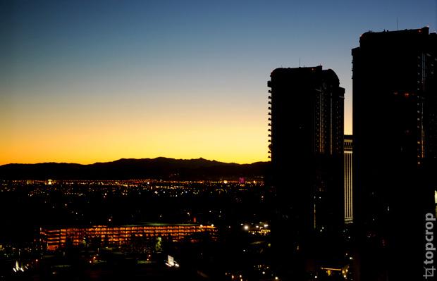 Восход в Лас-Вегасе