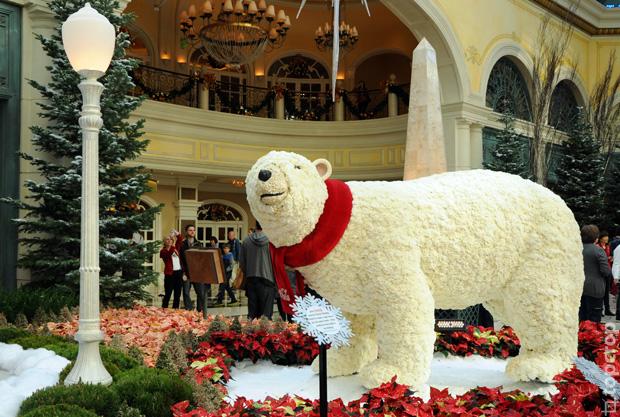 Новый год в отеле Bellagio
