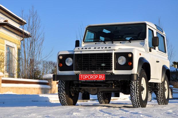 Тест драйв Land Rover Defender