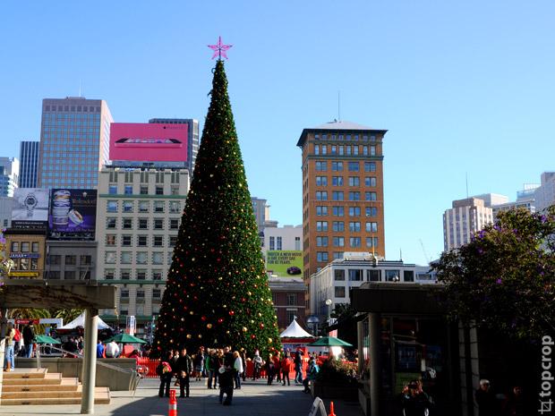 Рождественская ель на Юнион Сквер (Union Square)