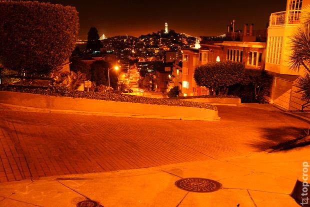 Ломбард стрит в Сан-Франциско
