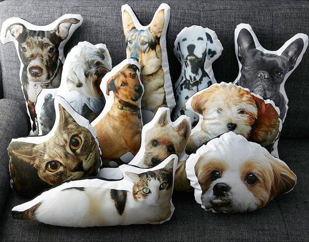 Подушки в форме различных животных