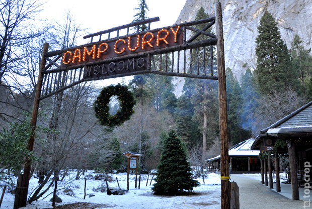 Curry Village, Yosemite National Park, California