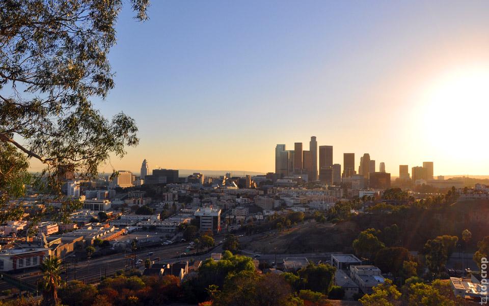 Лос-Анджелес на закате