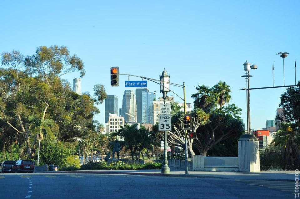 Los Angeles Park View