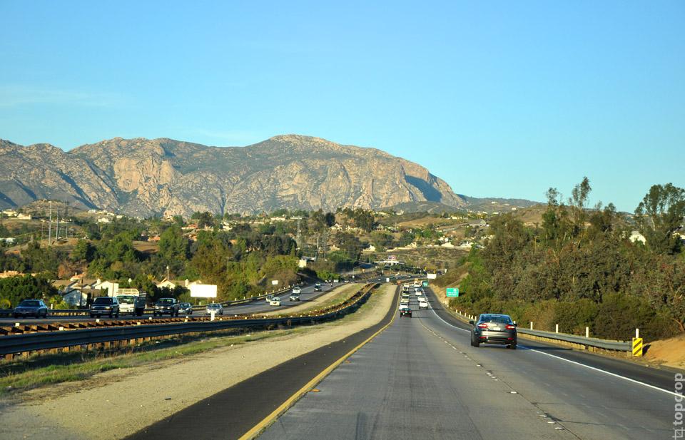 Дорога из Сан-Диего в Техас вдоль границы с Мексикой