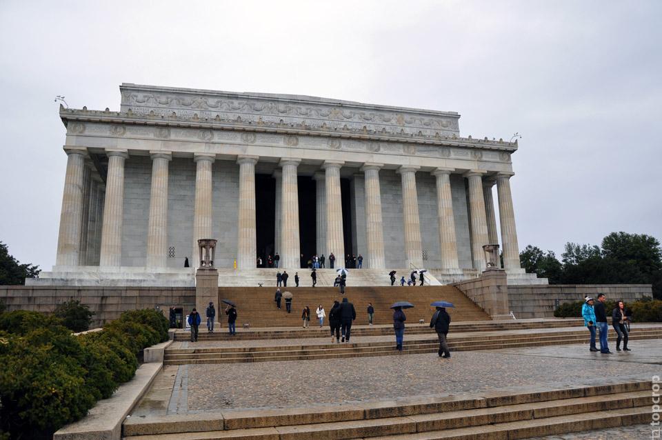 Мемориал Линкольна в Вашингтоне (фото)