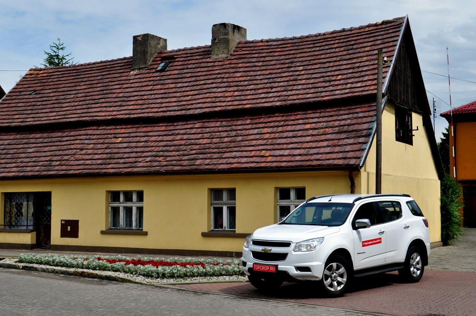 Chevrolet Trailblazer в Польше