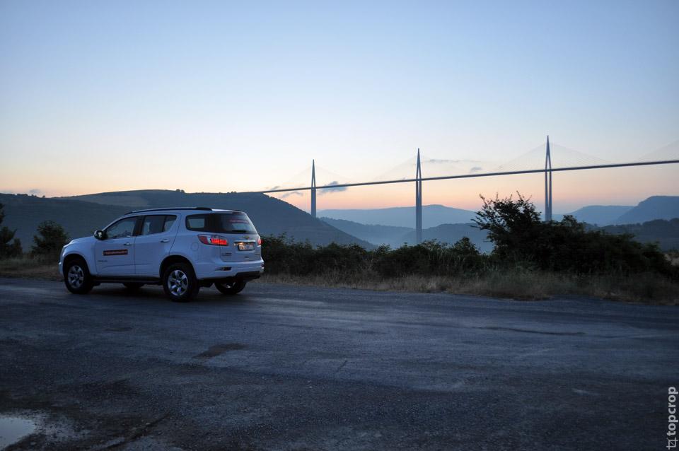 Французкая панорама с видом на Мийо