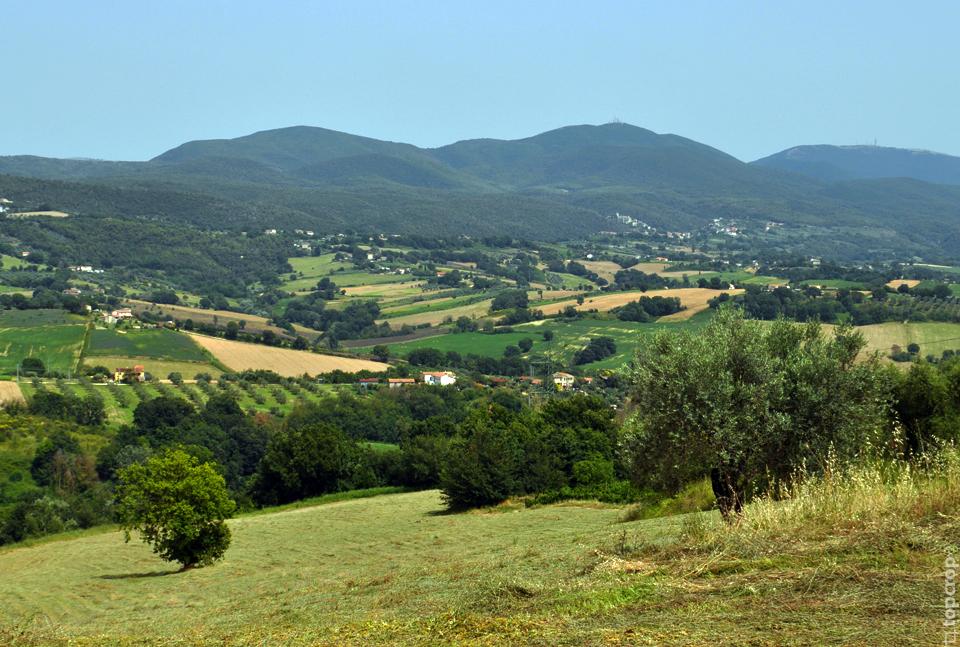 Панорама Тосканы