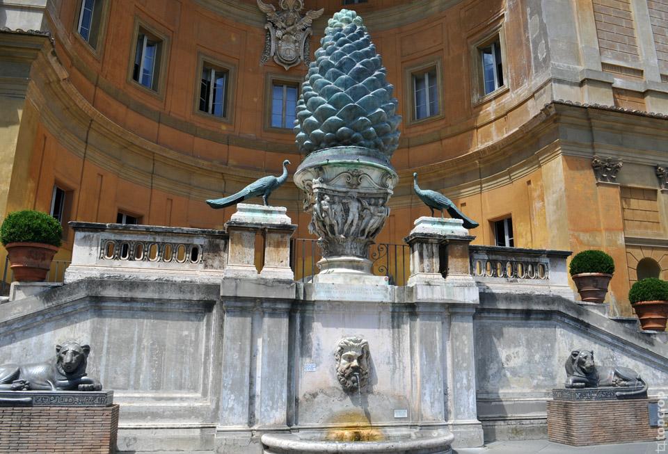 Зеленая шишка в Ватикане