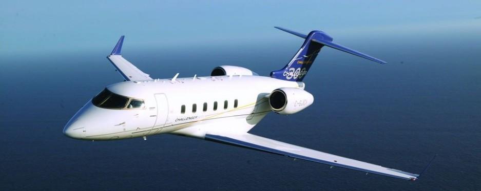 Среднемагистральный бизнес-джет Challenger 300, Bombardier Aerospace Канада)