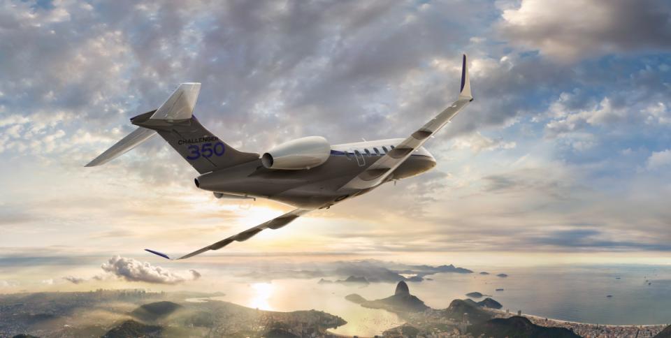 Среднемагистральный бизнес-джет Challenger 350, Bombardier Aerospace  Канада)