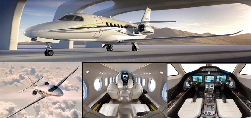 Бизнес-джет средней категории Latitude, Cessna Aircraft