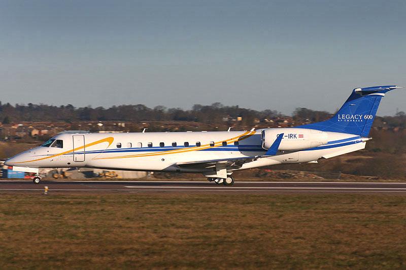 Бизнес-джет Legacy 600, Embraer Бразилия) / Фото: Embraer