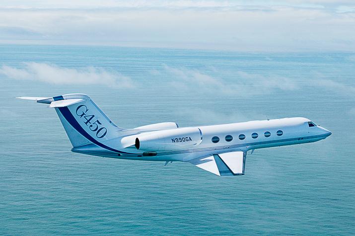 Бизнес-джет G450, Gulfstream Aerospace США) / Фото: Gulfstream Aerospace