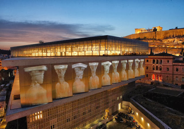 Музей Акрополя (The Acropolis Museum) Афины, Греция