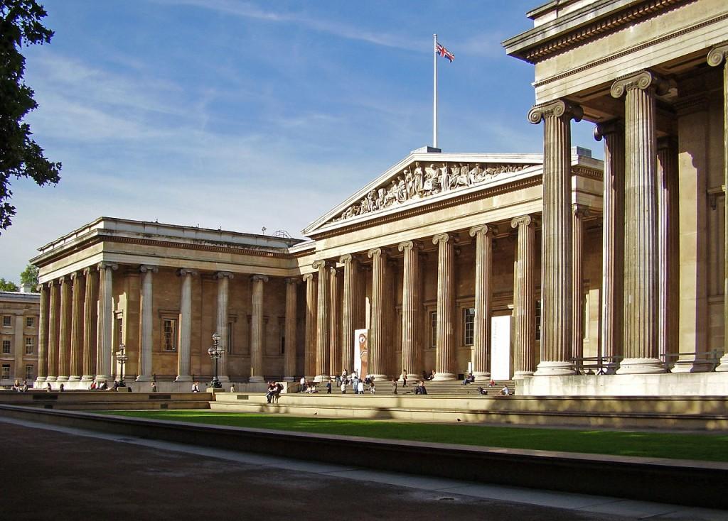 Британский музей (British Museum) Лондон, Великобритания