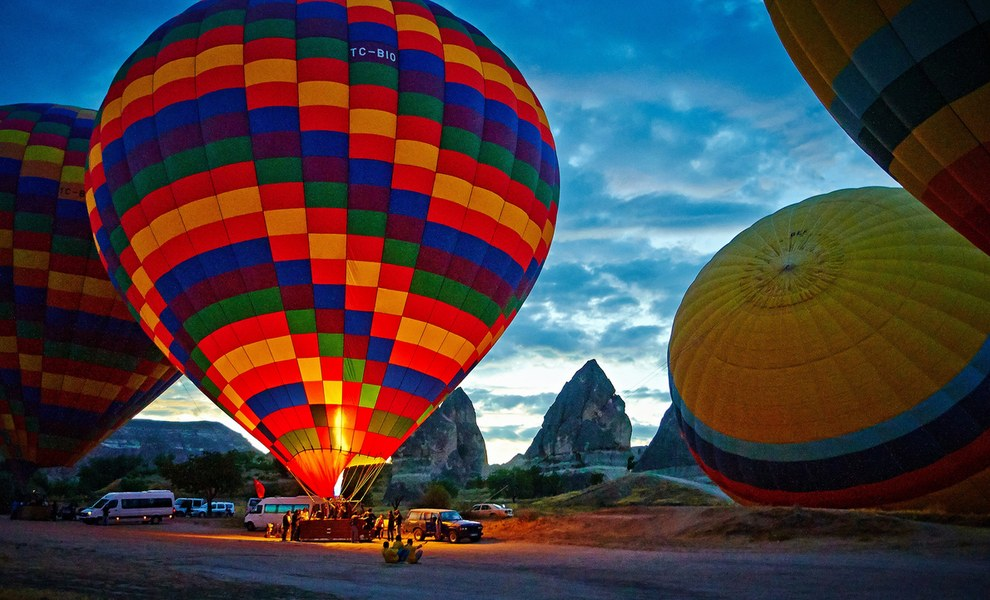 Каппадокия, Турция, путешествия