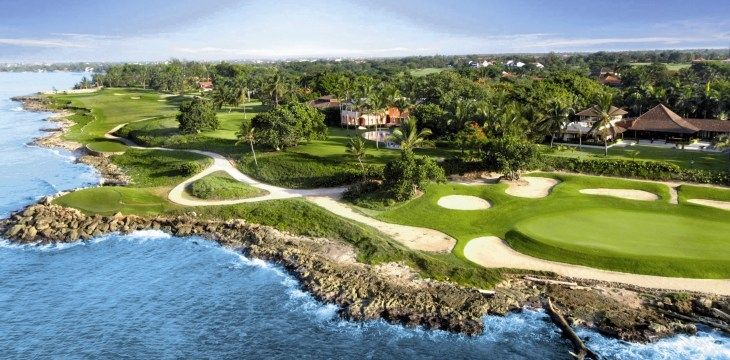 Teeth of the Dog , поле для гольфа, гольф, Casa de Campo, Доминиканская Республика, путешествия
