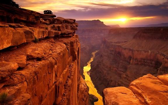 Гранд Каньон в Аризоне (США)
