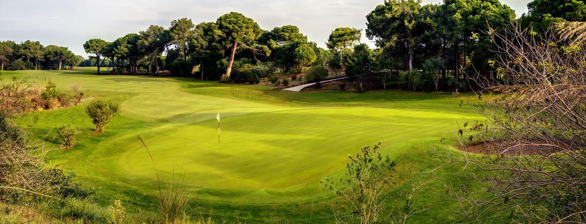 Лунка №11, поле для гольфа, гольф, Faldo Course, Cornelia Golf Club, Анталия, Турция