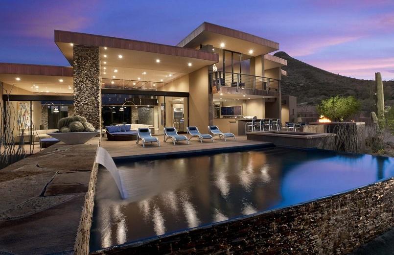 Award-Winning Modern Luxury Home in Arizona: The Sefcovic Residence