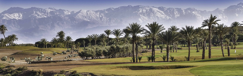 Поле для гольфа в Assoufid Golf Club, гольф, Марракеш, Марокко