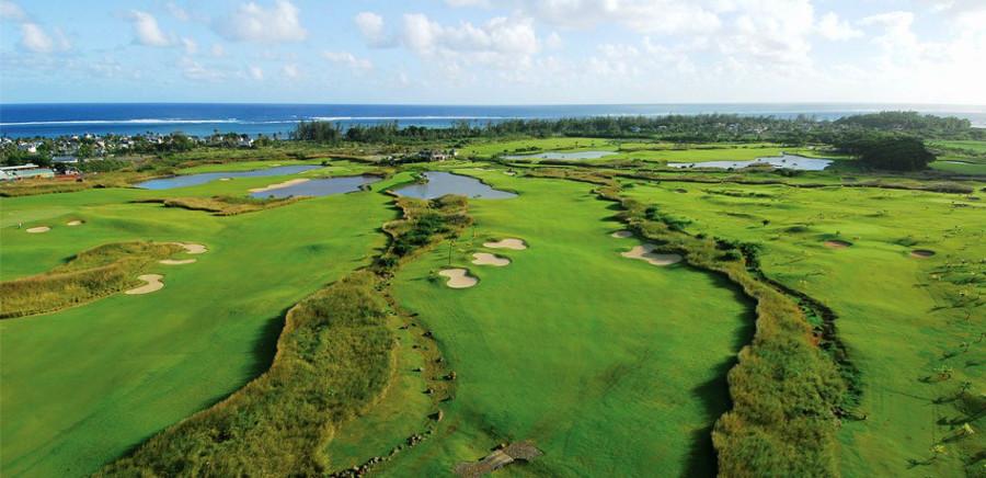Поле для гольфа в Heritage Golf Club, гольф, Маврикий